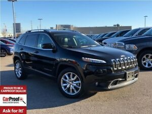 2017 Jeep Cherokee LIMITED**COMPANY VEHICLE**LEATHER SEATING**