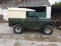 Land Rover Defender Series 3 1982 - Galvanised Chassiss
