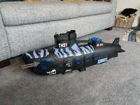 Army S1 Navy submarine. Black