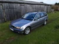 Bmw 2l estate , mot till April 2019 great family car that is in above average condition.