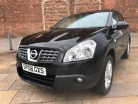 LOVELY 2008 08 NISSAN QASHQAI 1.5 TEKNA DCI / PAN ROOF / FULL LEATHER