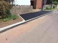 Drop kerbs/driveways/patios/fencing