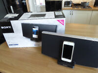 Sony RDPX200iP Wireless Speaker Dock with Bluetooth for iPod/iPhone/iPad .. NEW,. (iPhone5) £90 ono