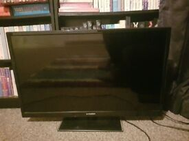 32 Inch Flat Screen TV - perfect condition. Rarely used. Needs gone ASAP.