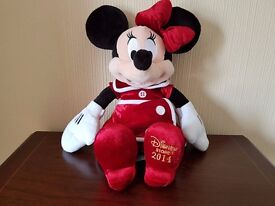 Disney Store 2014 Exclusive - Minnie Mouse 18'' Plush - Good Condition