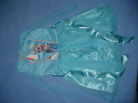 Disney Frozen Queen Elsa Fancy Dress/ Costume for 7-8 years. Brand new with tags. Knee lenght.