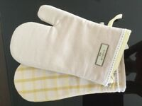 Next Oven Mitts New 100% Cotton
