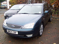 IMMACULATE LOW MILAGE 62000 MONDEO GHIA X AUTOMATIC HIGH SPEC NEW MOT TWO KEY STUNNING CAR £1395