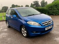 2006 HONDA FR-V 2.2 DIESEL MANUAL MPV 6 SEAT FAMILY CAR SPACIOUS ECO BLUE NO ZAFIRA SCENIC GALAXY