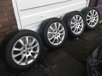 CRV Alloys 18inch with tyres Honda