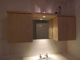 Used kitchen/bathroom cabinets/cupboards - storage