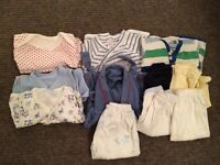 Baby boy 0-3 months bundle various outfits branded babygap, miniclub, immink, M&S in good condition
