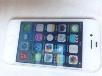 iPhone 4 locked to Vodafone,talkmobile and talktalk 8gb white
