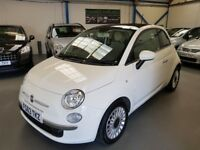 2013 (63) Fiat 500 Lounge 1.2 3dr with Panoramic Glass Sunroof
