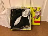 Brand new Joules leather ankle boots.