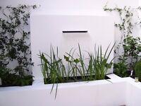 Garden design and construction
