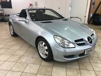 !!12 MONTHS MOT!! 2005 MERCEDES SLK KOMPRESSOR / ONLY 89K MILES /EXCELLENT CONDITION / FULL SERVICE