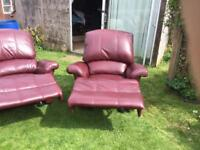 Leather recliner chair! Must go!!