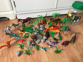 Toy dinosaurs - plus extra other animals