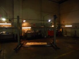 2 POST RAMPS AND MOT STATION FOR SALE GARAGE CLOSING DOWN ALL TOOLS AND RAMPS MUST BE SOLD