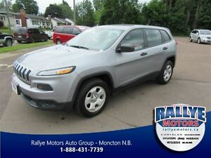 2014 Jeep Cherokee Sport! Bluetooth! Keyless! ONLY 34K!