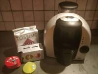 Bosch Tassimo coffee machine with Costa pods