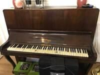 Antique traditional upright piano - Waddington & Son Ltd of Newcastle Upon Tyne