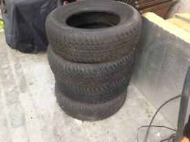 Bridgestone Dueler 4x4 tyres