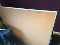 Giant Corkboard, great for students / office