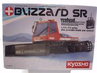 Kyosho 1:12 Scale R/C EP BLIZZARD SR #30986 MIB with Battery & Charger