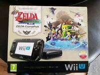 Wii U premium with limited edition Zelda Gamepad