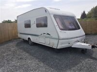 2005 SWIFT CHALLENGER 530 SE, 4 BERTH, FULL BATHROOM, ALLOYS, GAS & ELECTRIC, FULL BLOW UP AWNING