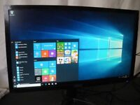 """ACER KG221Q Full HD 21.5"""" LED Computer / PC Monitor Black Warranty approx 18mth - Monitor only"""