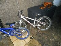 2 bikes for hut clear out fair condition
