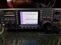Icom 756 HF TRANSCEIVER