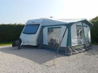 ELDDIS XPLORE 302, YEAR 2011, 2 BERTH, COLOR WHITE, LENGTH 4.27 M, WEIGHT 950KG, FULL AWNING.