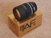 Almost New Nikon AF DC Nikkor 135mm f2.0 lens king of bokeh