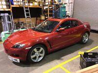 Mazda RX-8 New engine Pearl Red Renesis