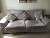 3 seater SCS settee, split base for easy access