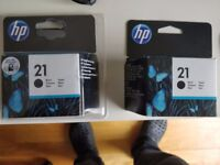Brand New HP 21 Black Genuine Ink Cartridge (C9351AE)