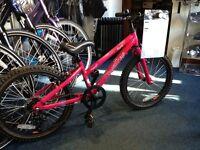 Dawes Paris pink girls bike