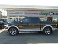2013 Ram 1500 Laramie Hemi, Leather Interior