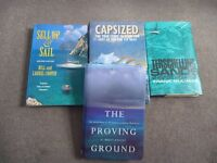 4 sailing experiences books for sale together or separately
