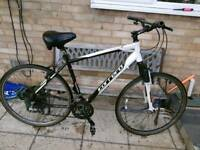 Carrera Crossfire 1 mens hybrid bike