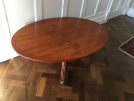 Oval Yew Table