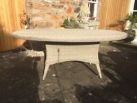 Quality garden dining table