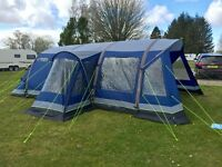 OUTWELL HORNET 6SA AIRBEAM TENT, CARPET & FOOTPRINT