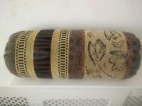 Sofa Bolster Cushion – Pair – African Print Design – £10