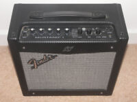 """Fender Mustang I , 1x8"""" Modelling Amp Combo Digital Modelling Amp with Effects and more !"""