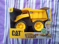 Dump Truck Toy - CAT Tough Tracks